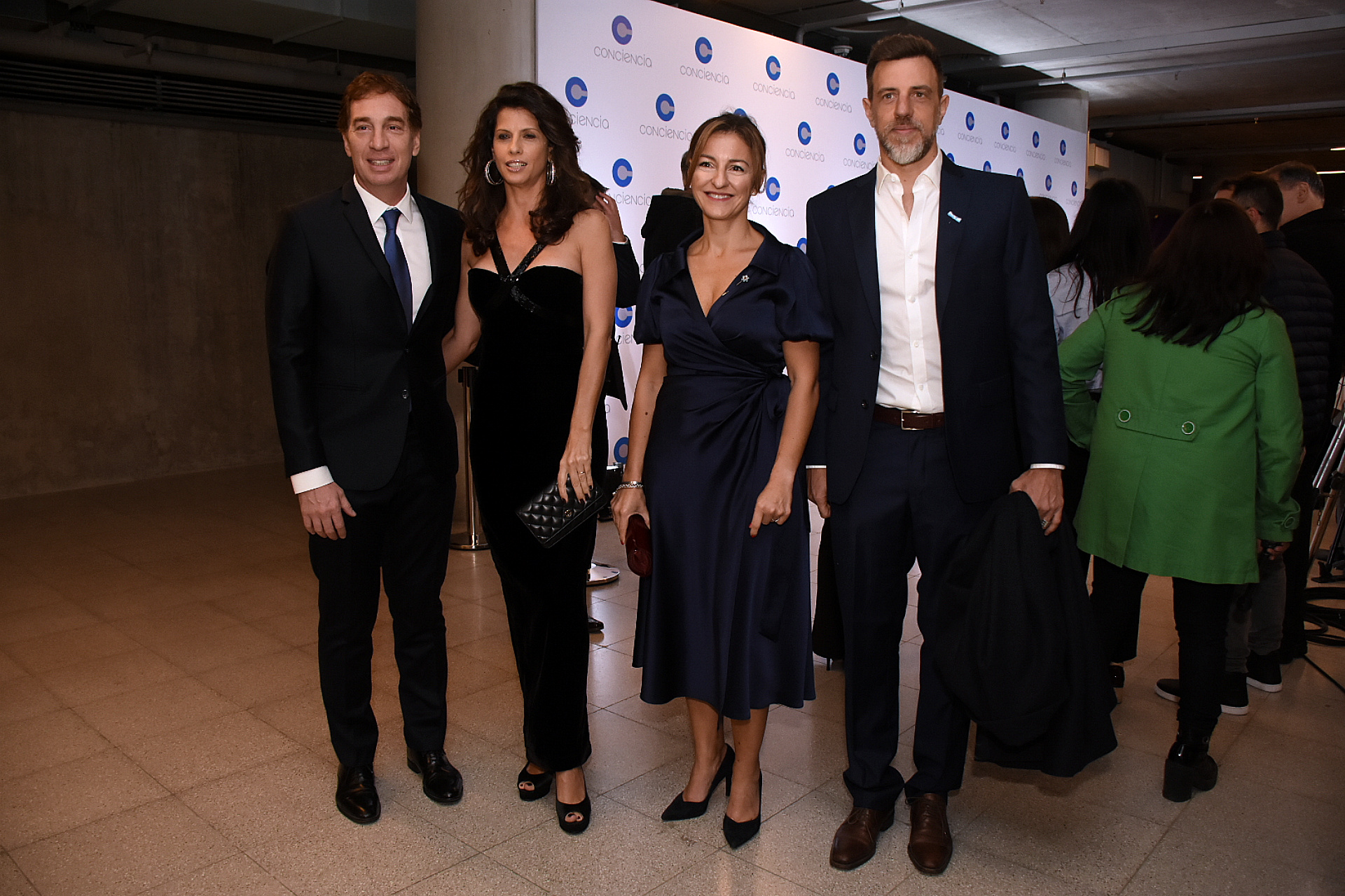 Diego Santilli, Analía Maiorana, Soledad Acuña y Diego Kravetz