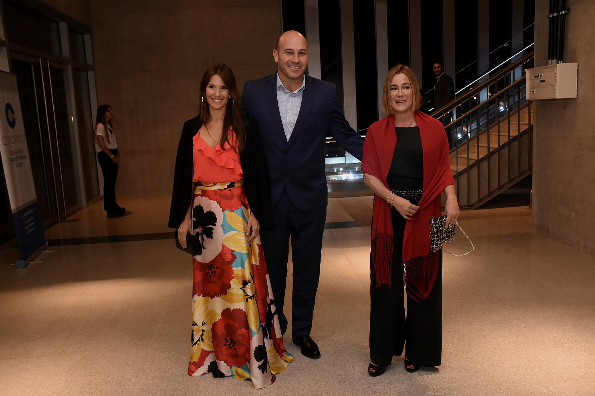 El intendente de Quilmes, Martiniano Molina, y su mujer Ileana Luetic