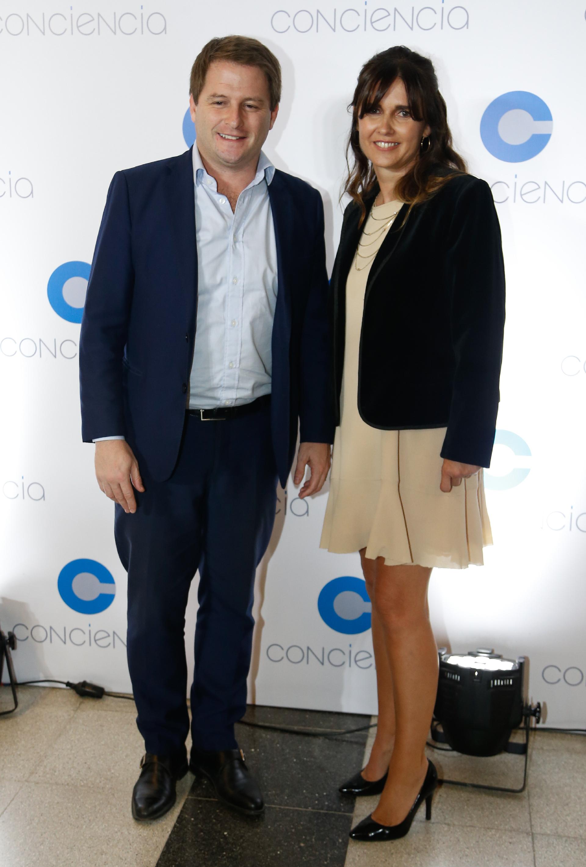 Alex Campbell, subsecretario de Gobierno y Asuntos Municipales de la provincia de Buenos Aires, y Beby Lacroze