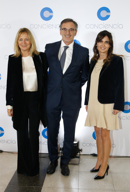 Claudio Cesario, presidente de la Asociación de Bancos de la República Argentina (ABA), y su mujer Nélida Barral