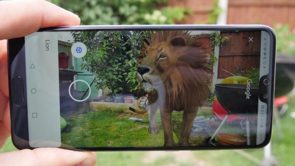 Un tigre en el patio trasero de la casa de un usuario (Foto: Pocket-lint.com)