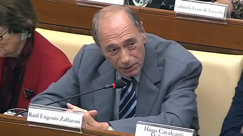El ex ministro de la Corte Suprema de Justicia, Eugenio Raúl Zaffaroni