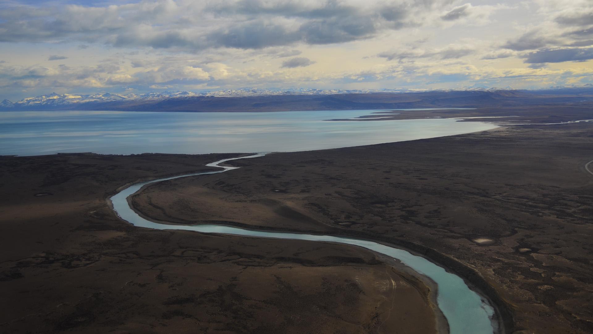 Los Andes Centrales son una de las zonas con mayor densidad de glaciares de escombros del mundo. En general se encuentran por encima de los 3.000 metros del altura (foto del Glaciar Perito Moreno)