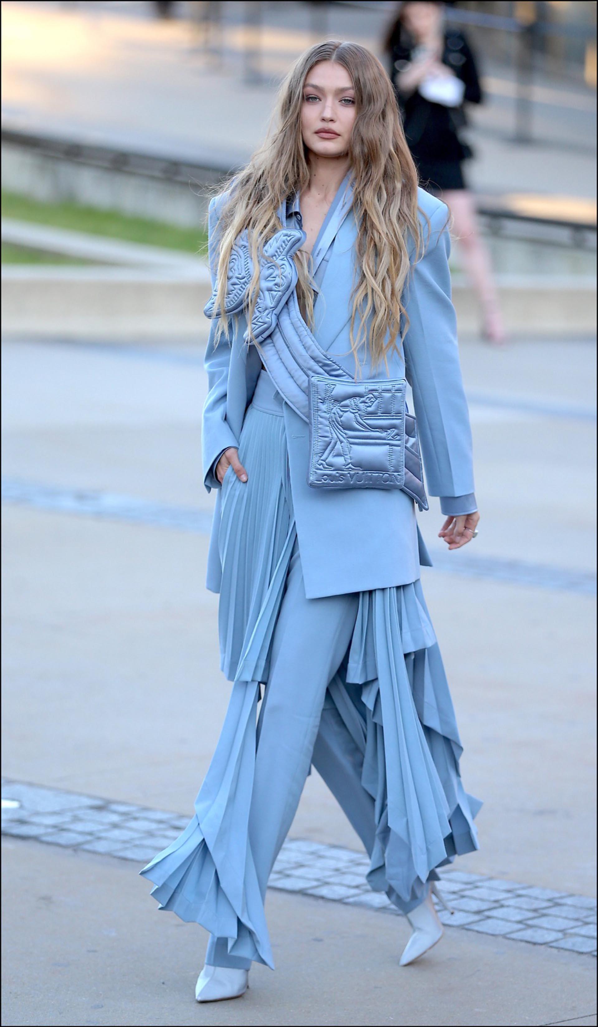 Gigi Hadidby Louis Vuitton.