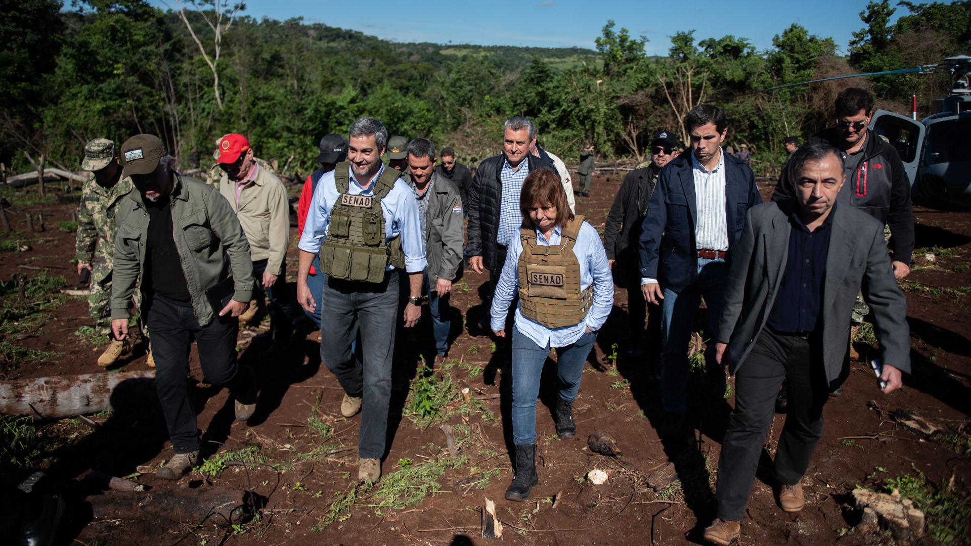 El Gobierno paraguayo ya identificó otros cultivos en la zona de la frontera con Formosa, un nuevo foco de producción.