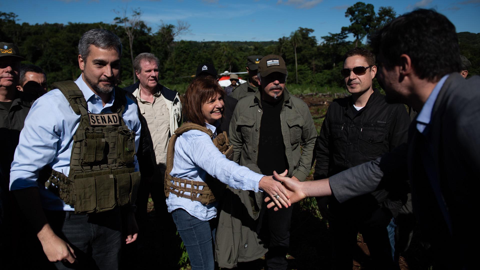 Bullrich anunció un nuevo operativo de desmonte de marihuana en octubre, en territorios cercanos a la frontera con Formosa.