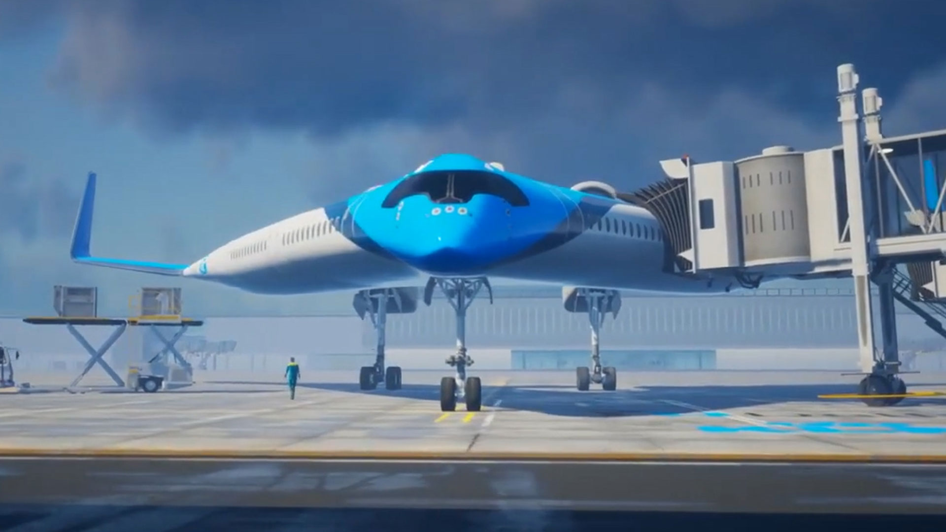 3d49224b5 Así será el Flying-V, el avión futurista que acomodará a los pasajeros en  las alas - Infobae