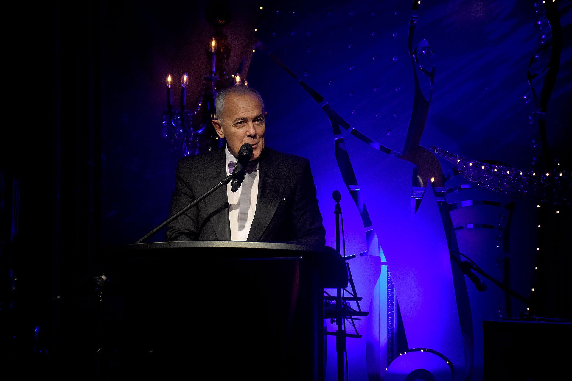 Martín Wullich estuvo a cargo de la conducción de la gala