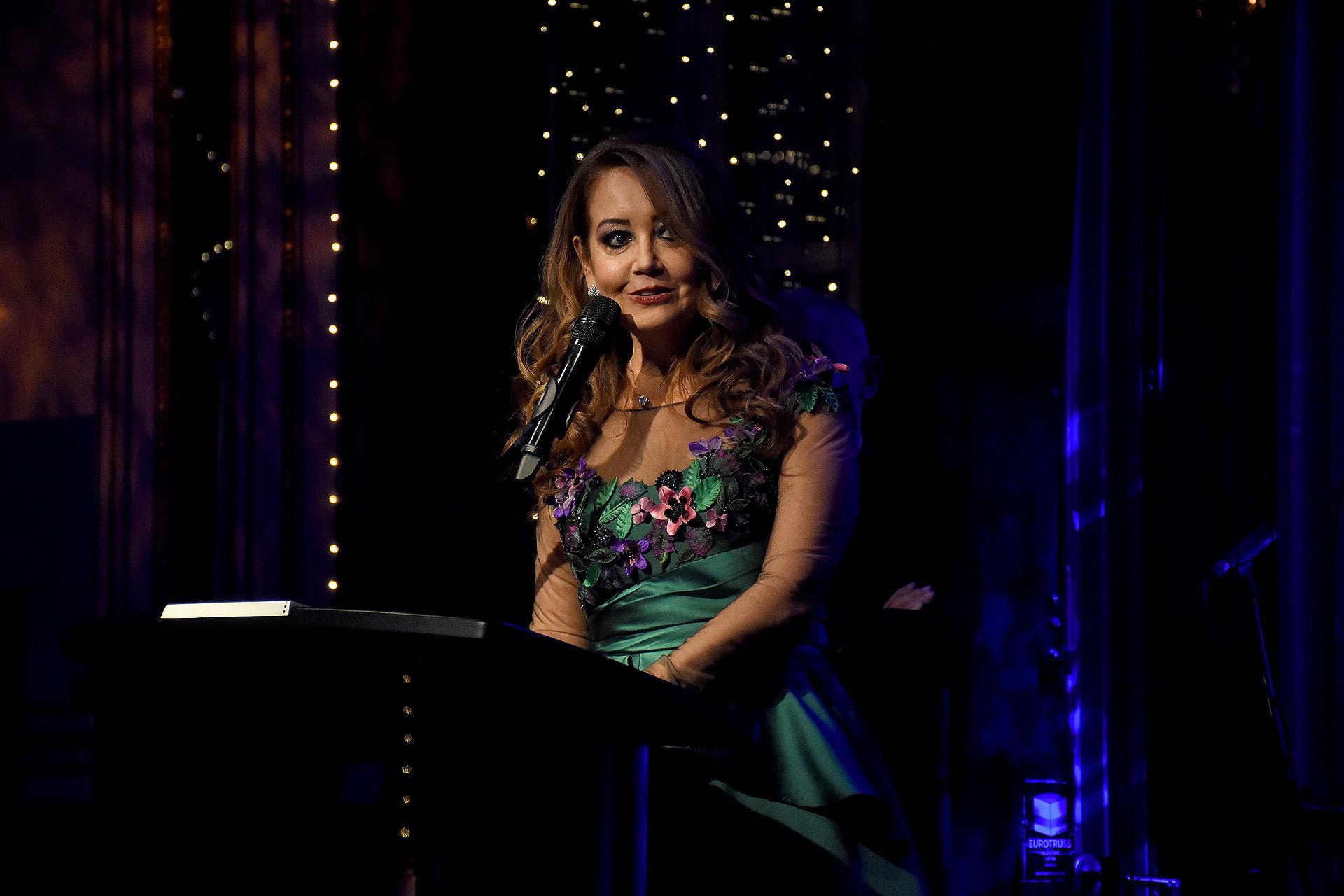 El discurso de Mónica Parisier, presidente de Make-A-Wish Argentina, durante la tradicional gala benéfica