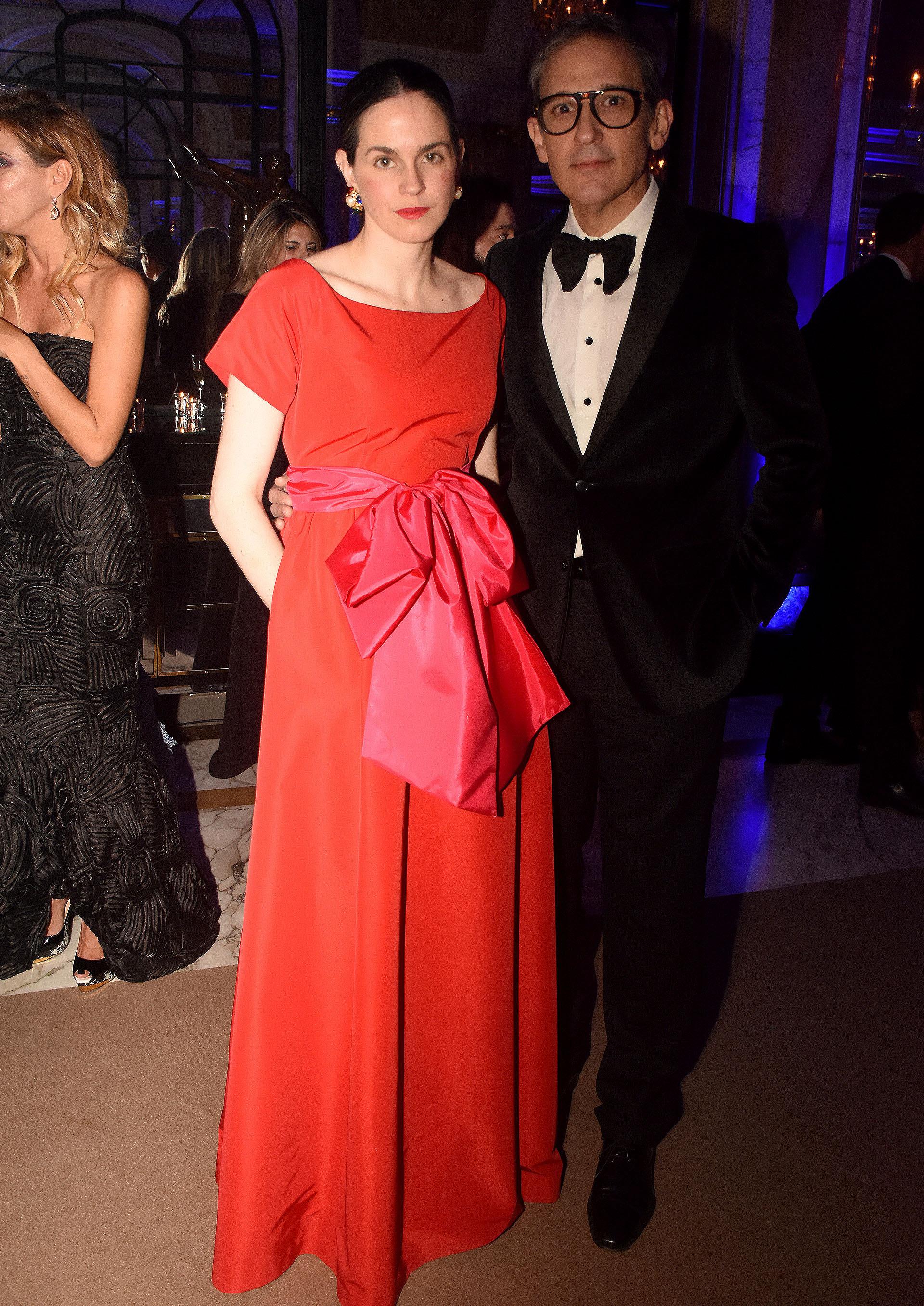 El diseñador Adrián Brown y su mujer