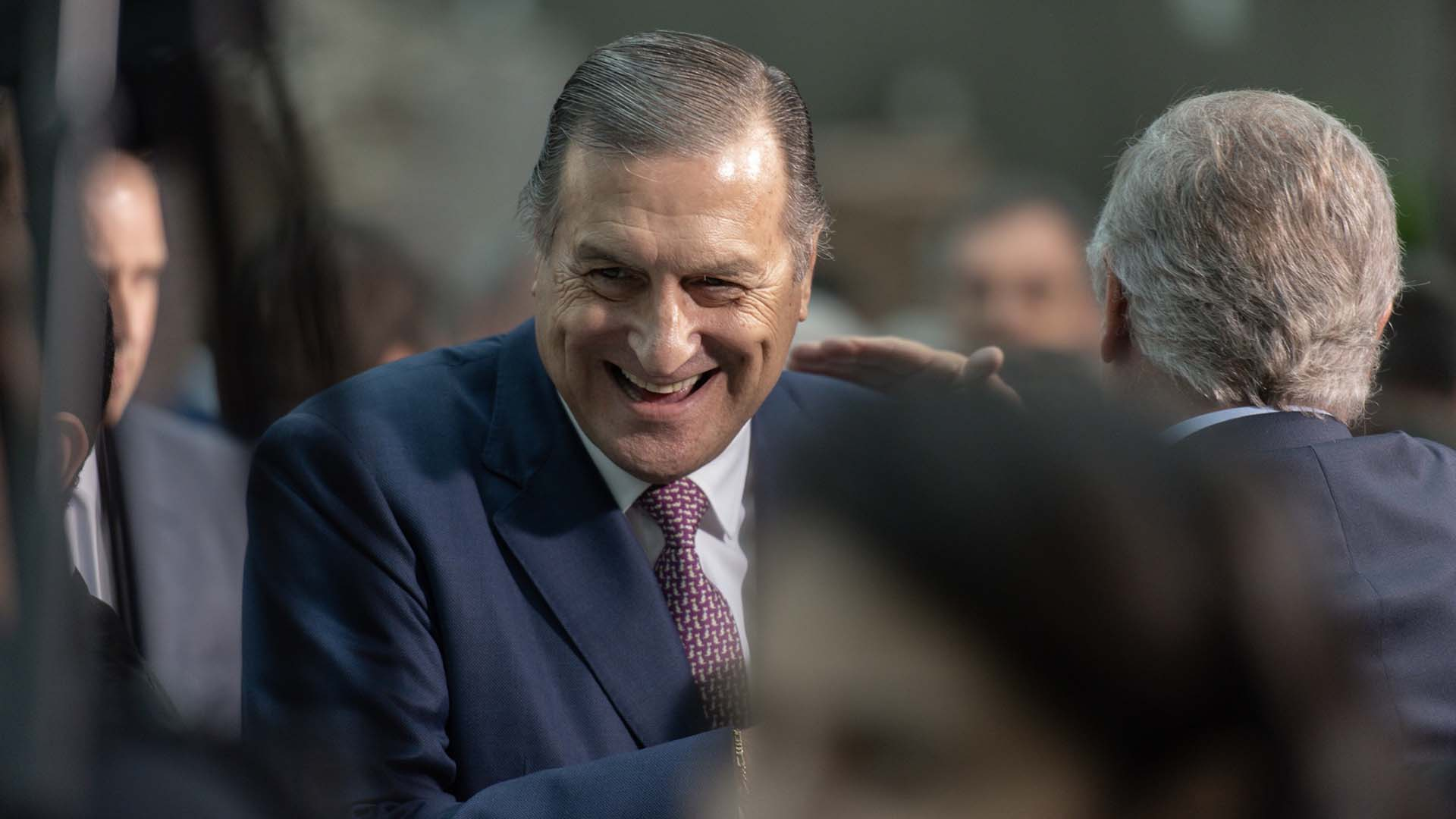 El senador radical Ángel Rozas