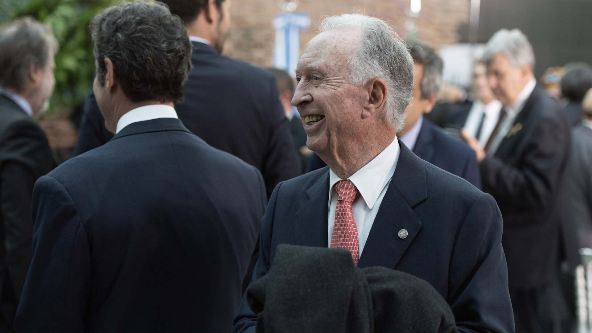 Jorge di Fiori, presidente de la Cámara de Comercio