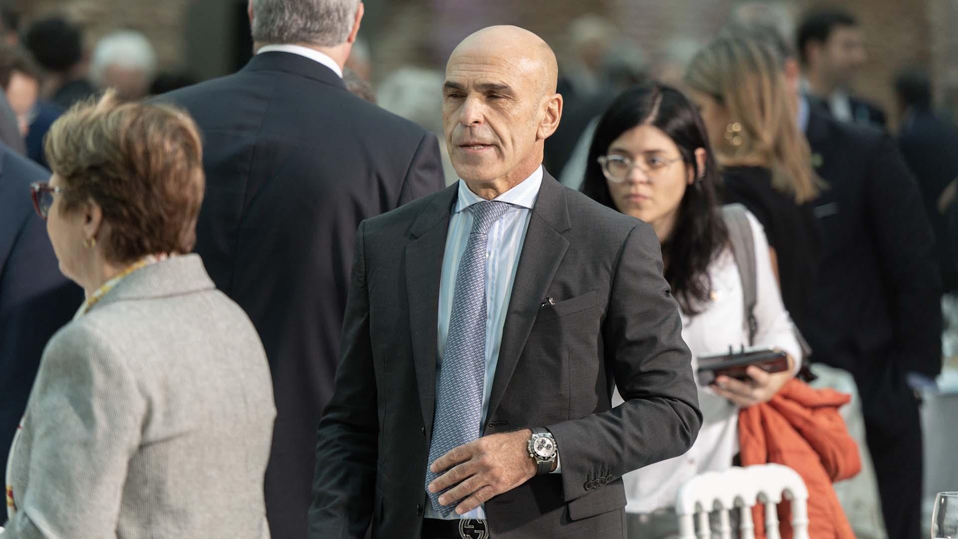 El director general de la Agencia Federal de Inteligencia, Gustavo Arribas