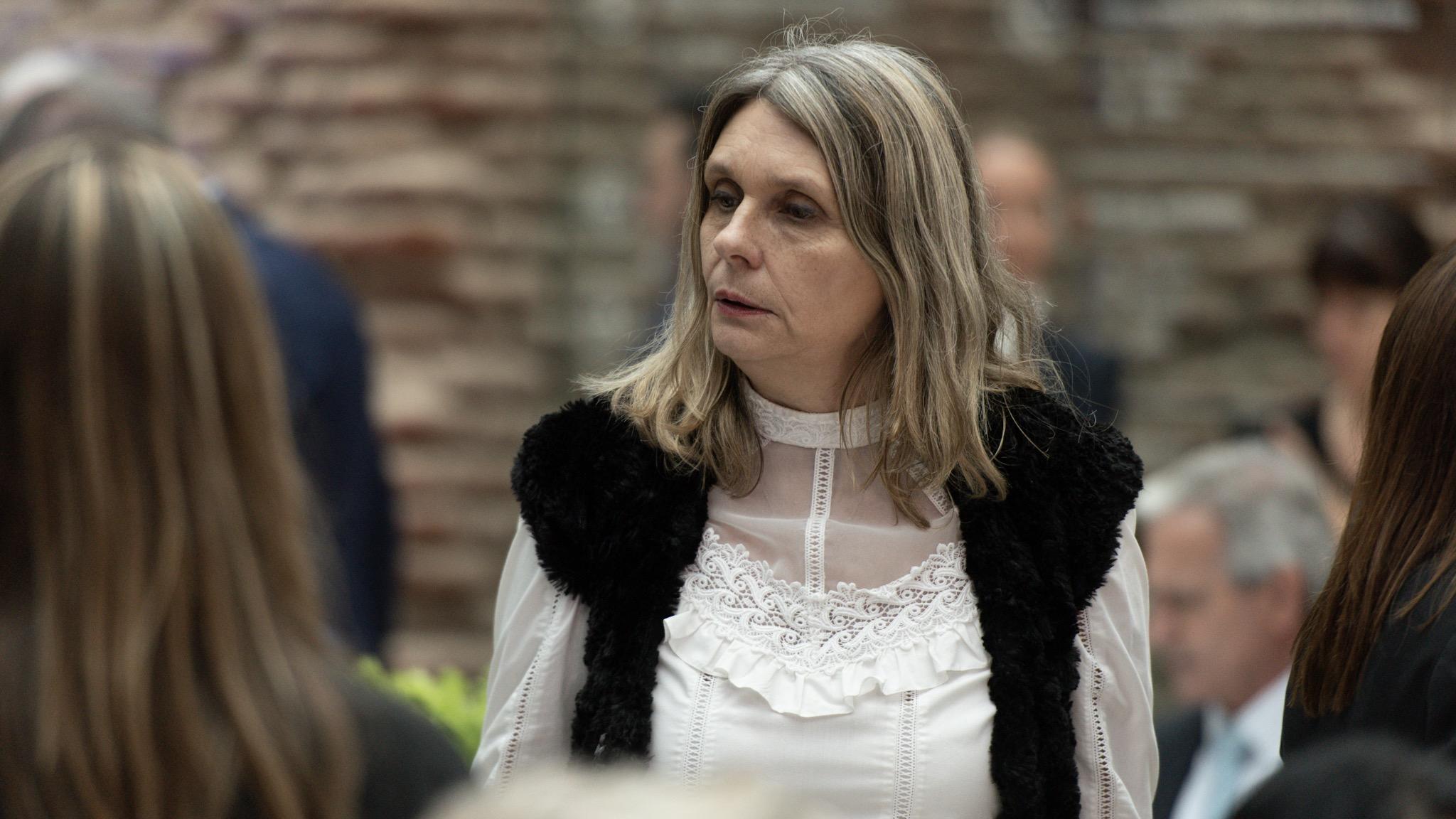 La senadora Cornelia Schmidt-Liermann