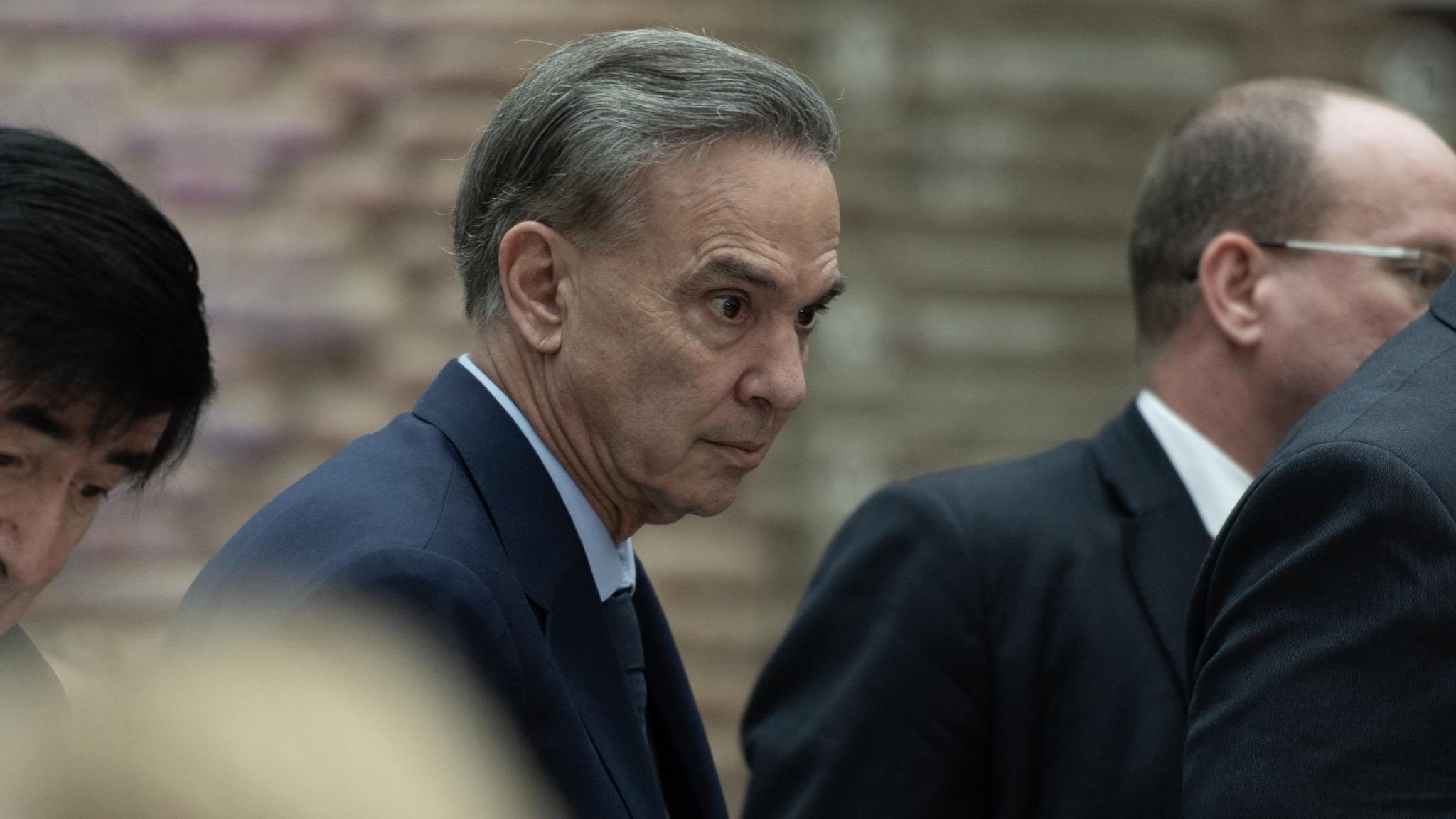 El senador Miguel Pichetto