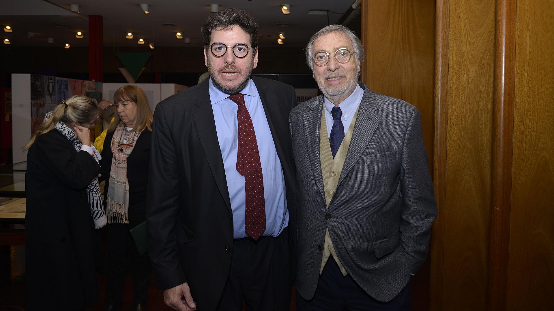 Pablo Avelluto y Luis Brandoni