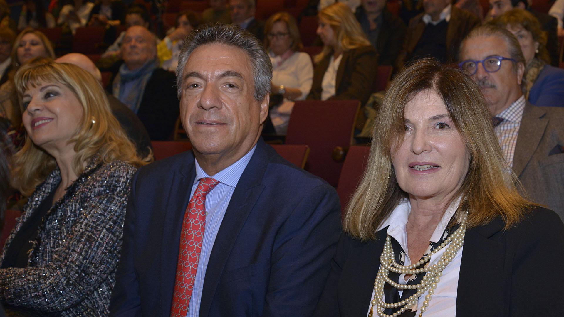 Dany Mañas y Sofía Neiman