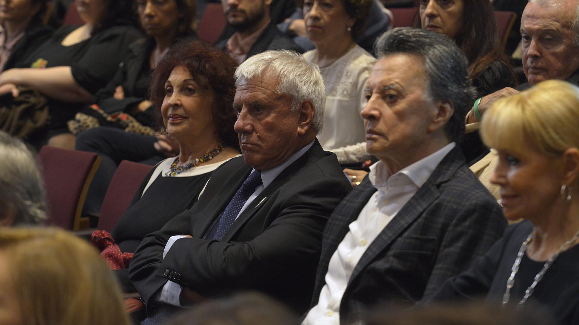 Gabriela Acher, Fernado Bravo, Palito Ortega y Evangelina Salazar