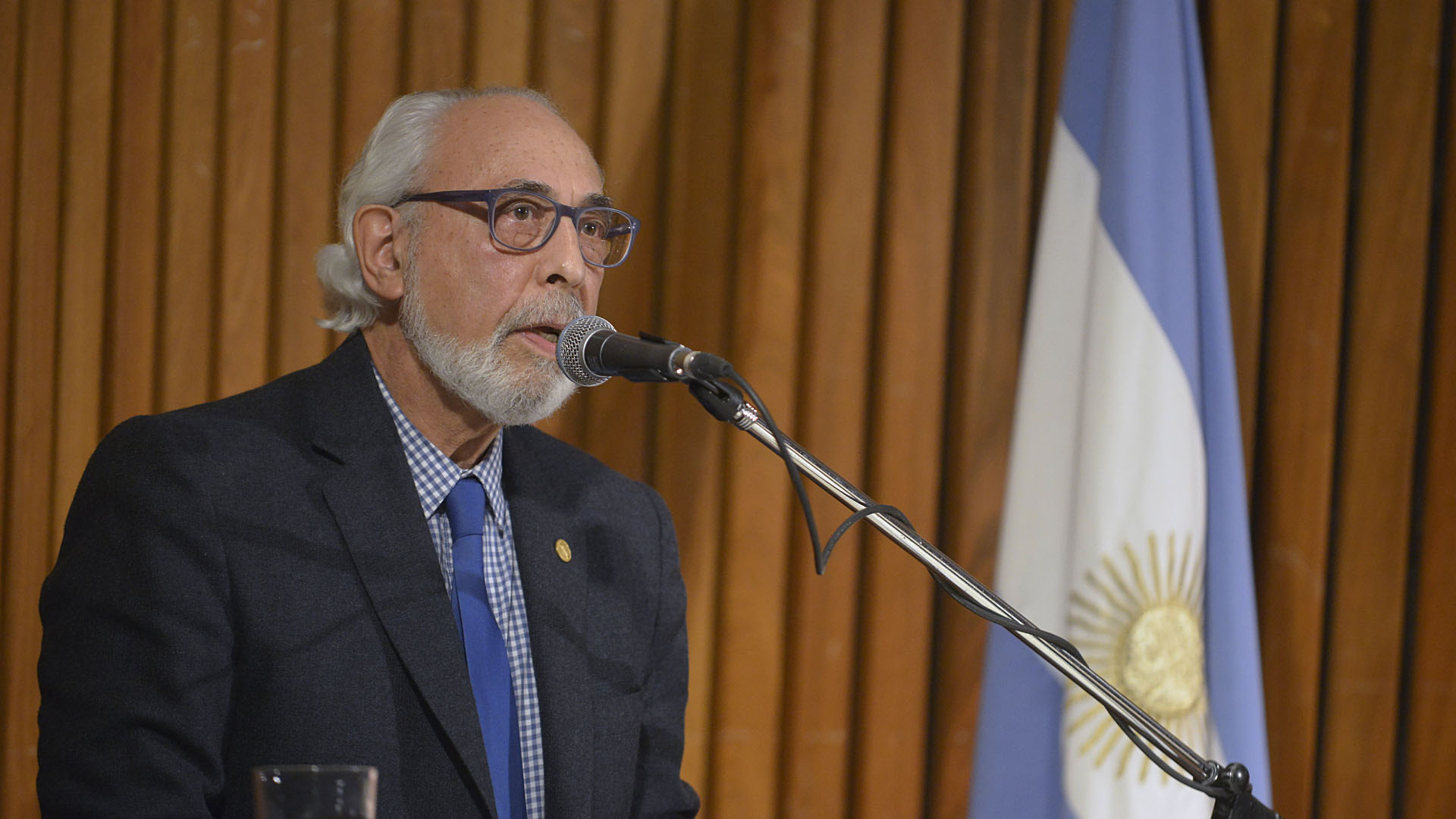 El discurso de bienvenida del académico, Santiago Kovadloff