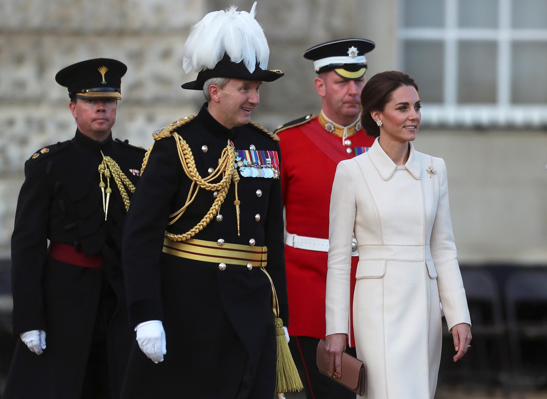 A los 37 años, Catalina es madre de tres hijos: Jorge, Carlota y Luis de Cambridge /// Fotos: Reuters