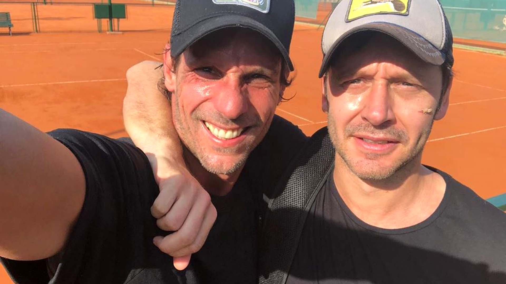 """El posteo en Instagram de Benjamín Vicuña junto a Gonzalo Valenzuela. Los actores chilenos fueron compañeros de elenco en distintas ocasiones (""""Piel canela"""" fue la primera) y formaron una gran amistad"""