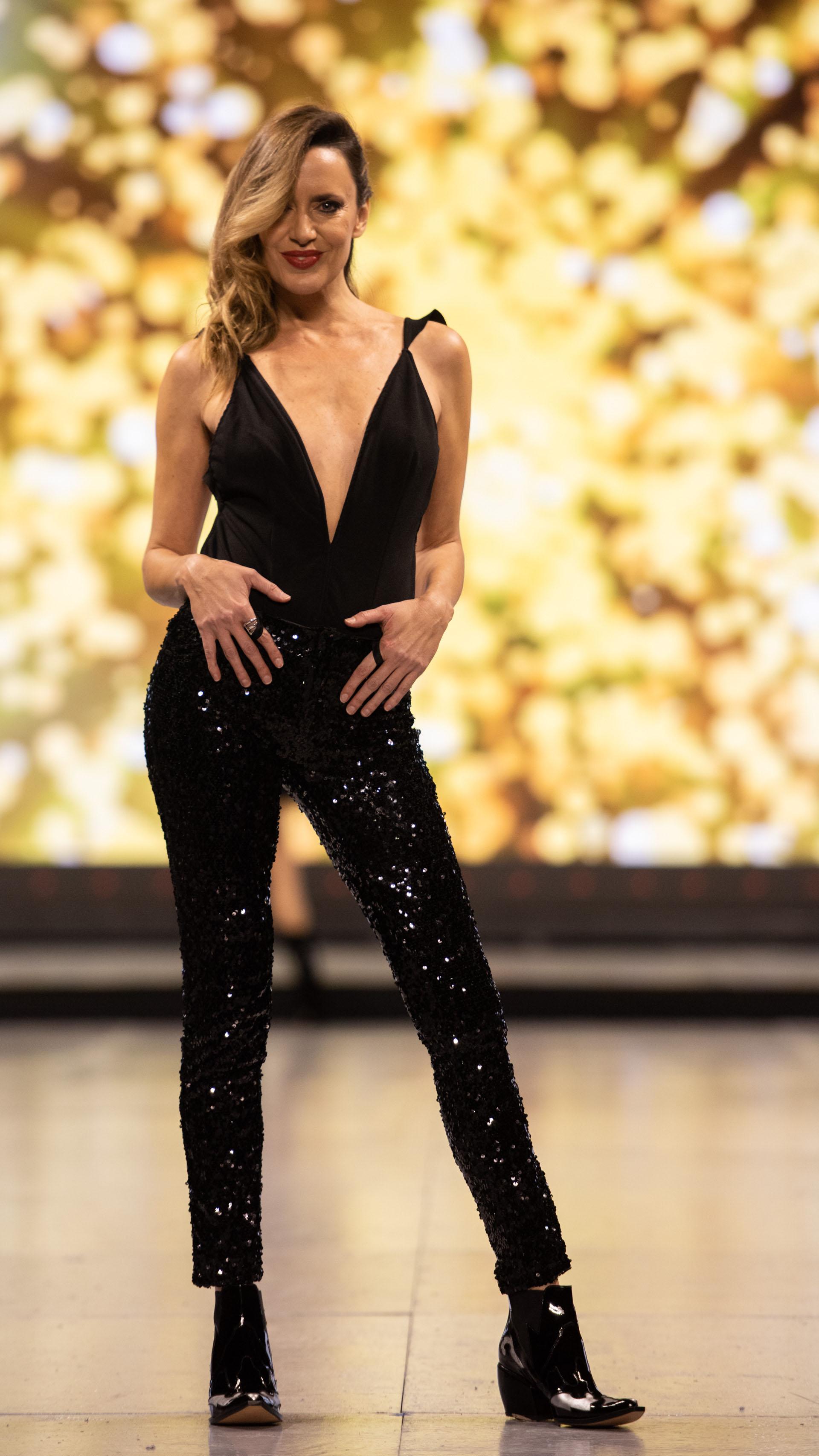 Soledad Villareal, una de las modelos que nunca falta en los desfiles de Silkey