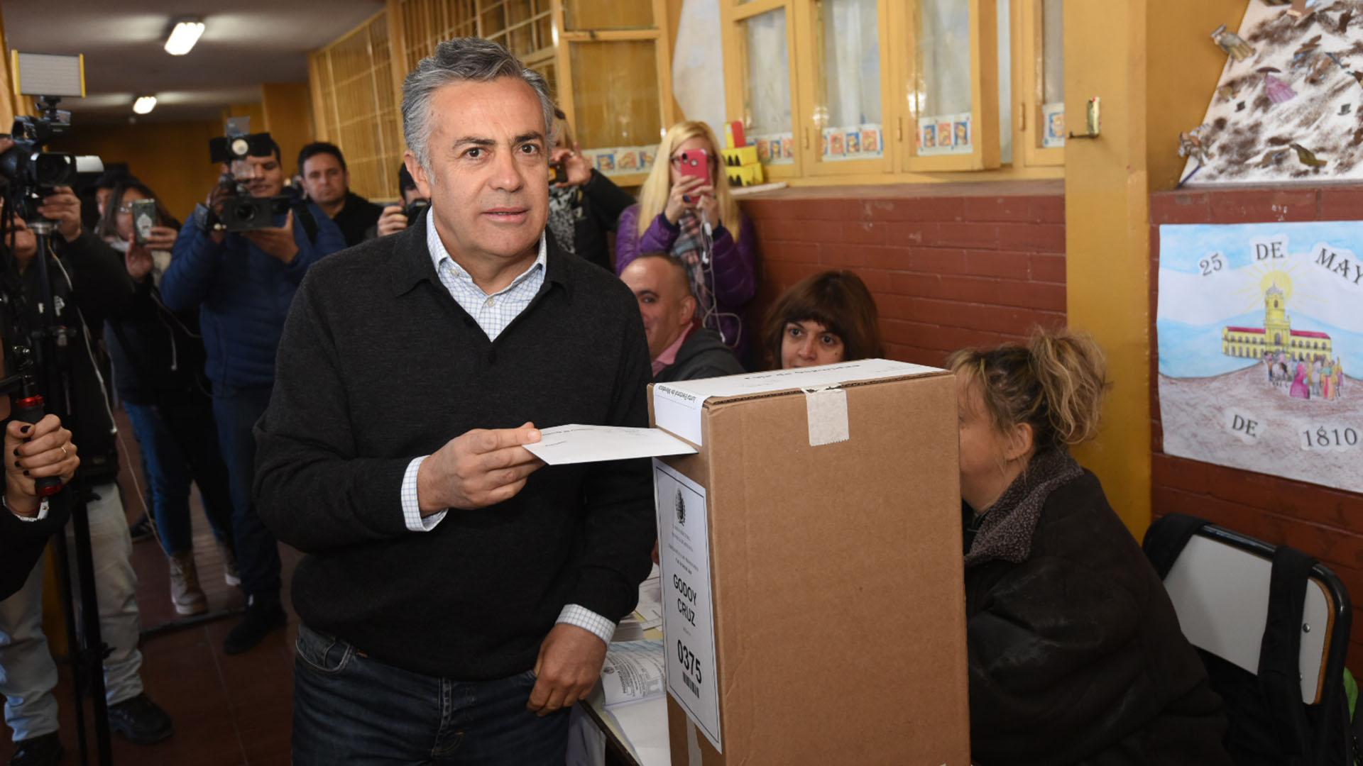 El gobernador de Mendoza, Alfredo Cornejo