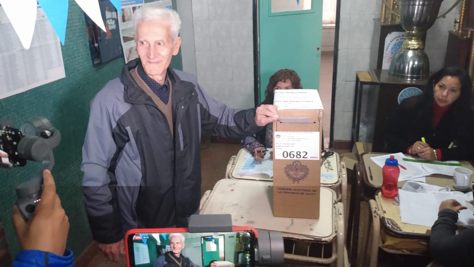 Julio Ferreyra, candidato a gobernador del peronismo en Jujuy