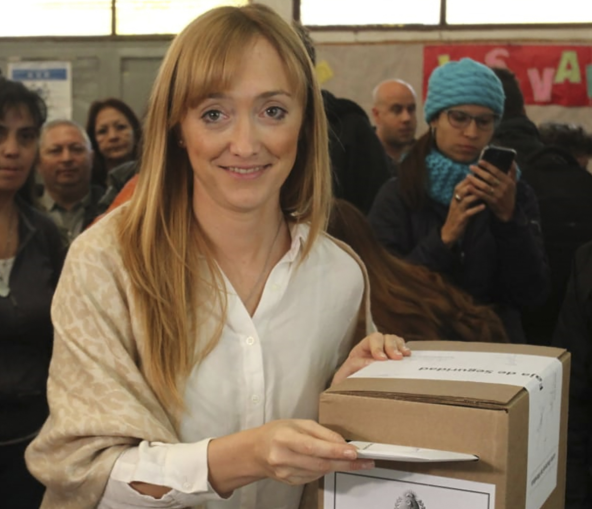 La precandidata a gobernadora por Unidad Ciudadana en Mendoza, Anabel Fernández Sagasti