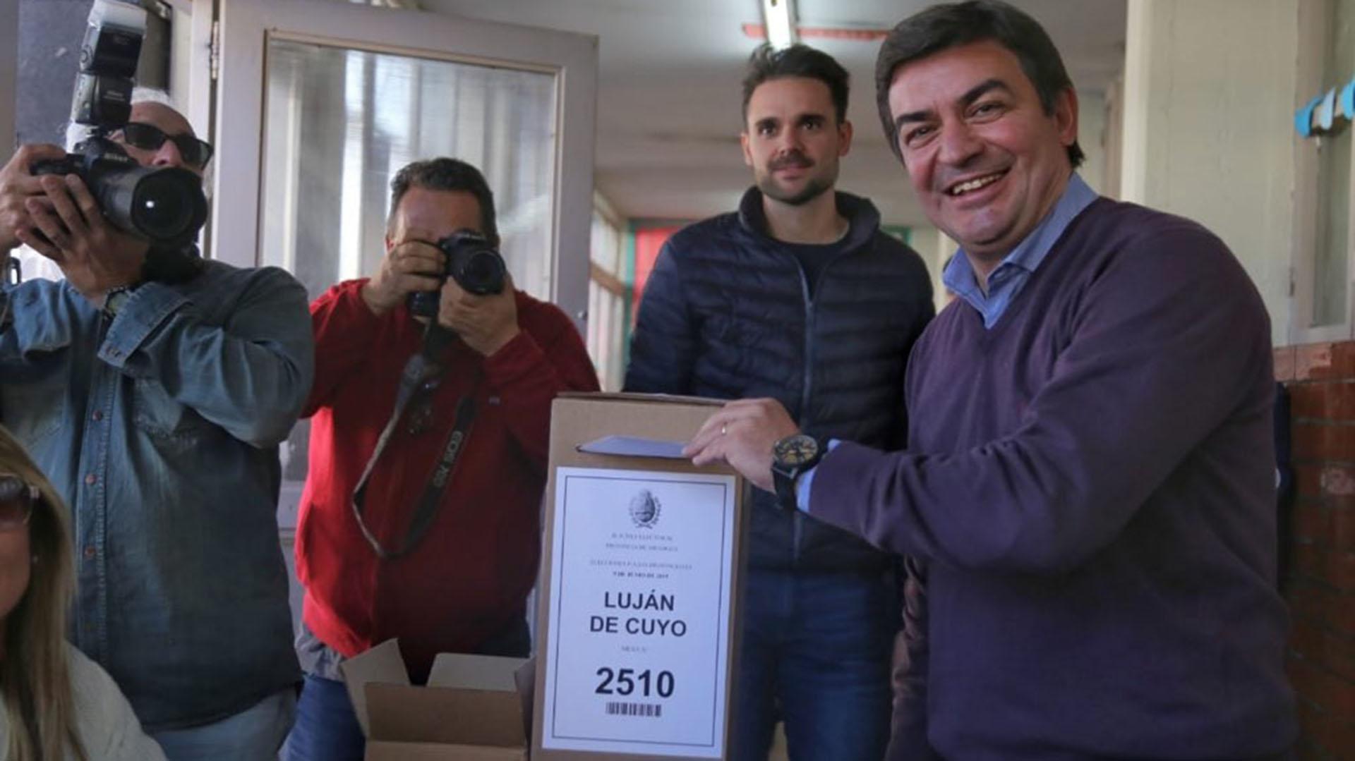 Omar de Marchi, precandidato a gobernador en Mendoza. Es el hombre del PRO que competirá en la primaria contra el postulante de Cornejo.