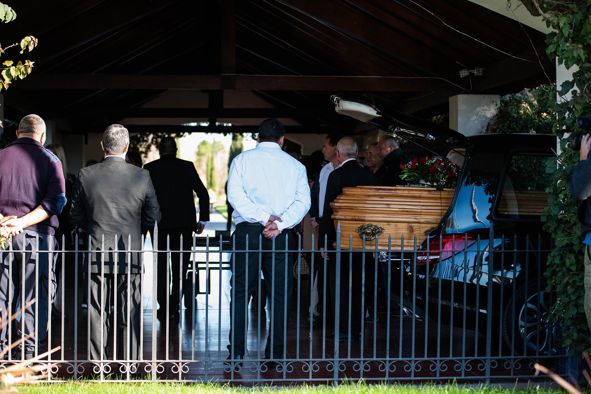 Las fotos del último adiós a Lucho Avilés (Franco Fafasuli)