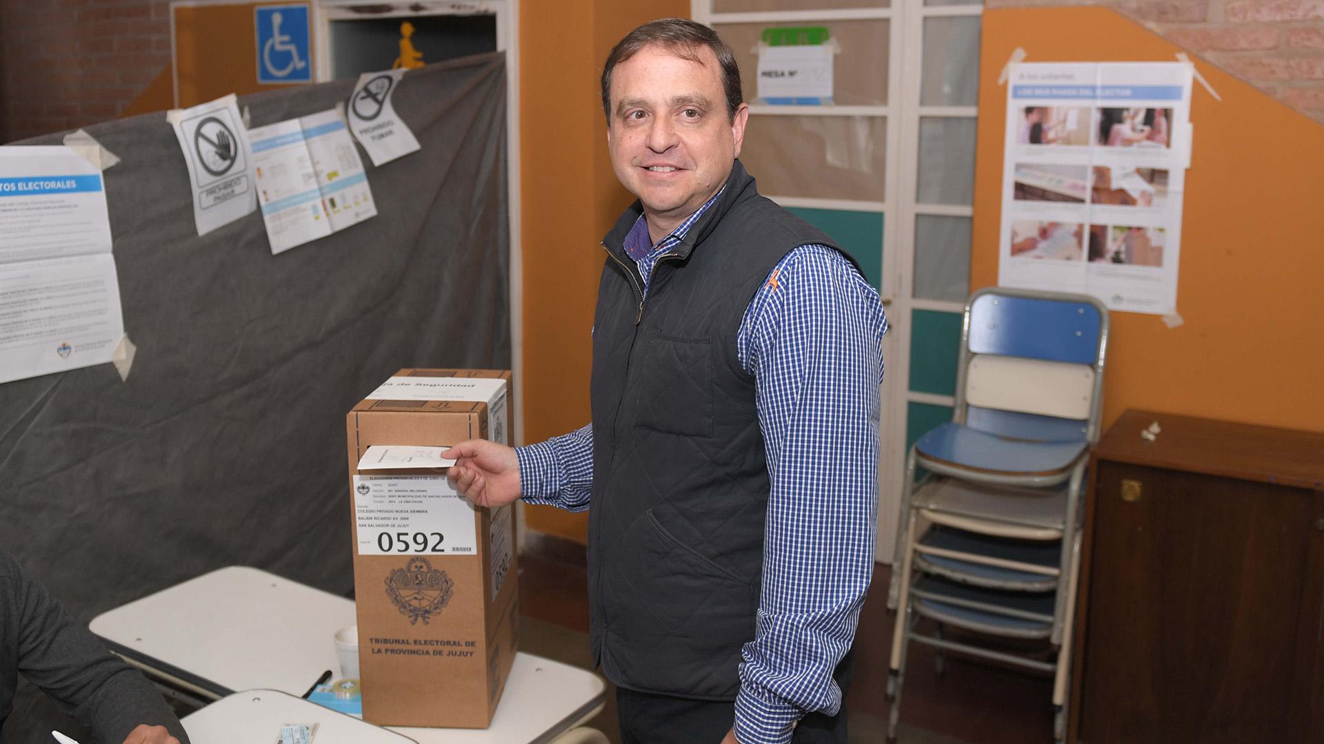 Guillermo Snopek, senador del PJ y candidato a gobernador de Jujuy