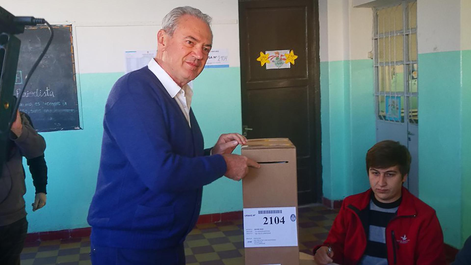Atilio Benedetti, el candidato de Cambiemos en Entre Ríos