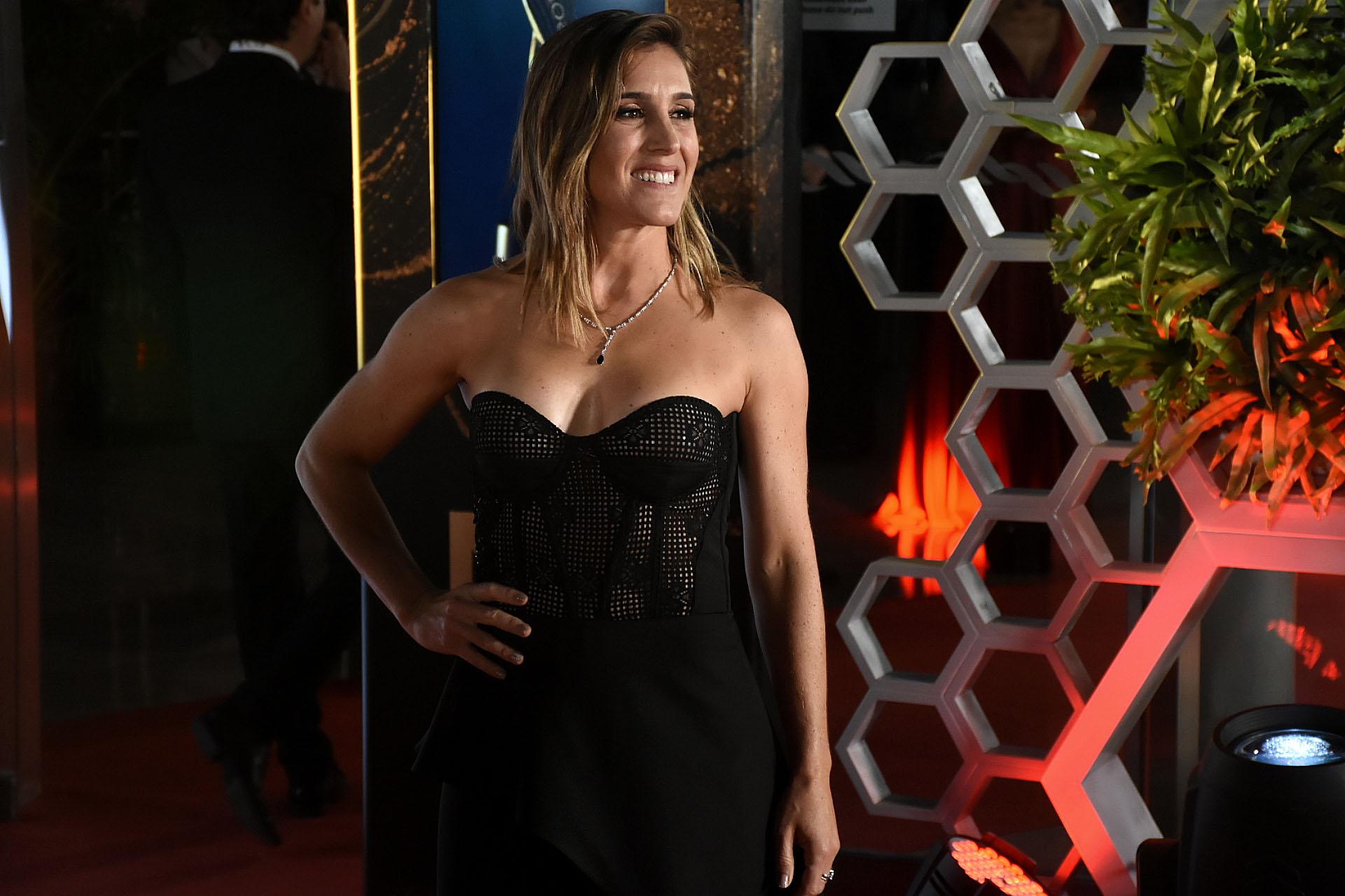 Soledad Pastorutti en la red carpet de los Martín Fierro 2019