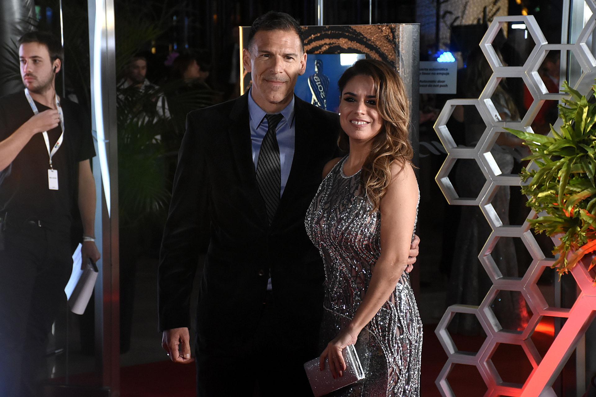 Marina Calabró y Martín Albrecht, director Comercial de América