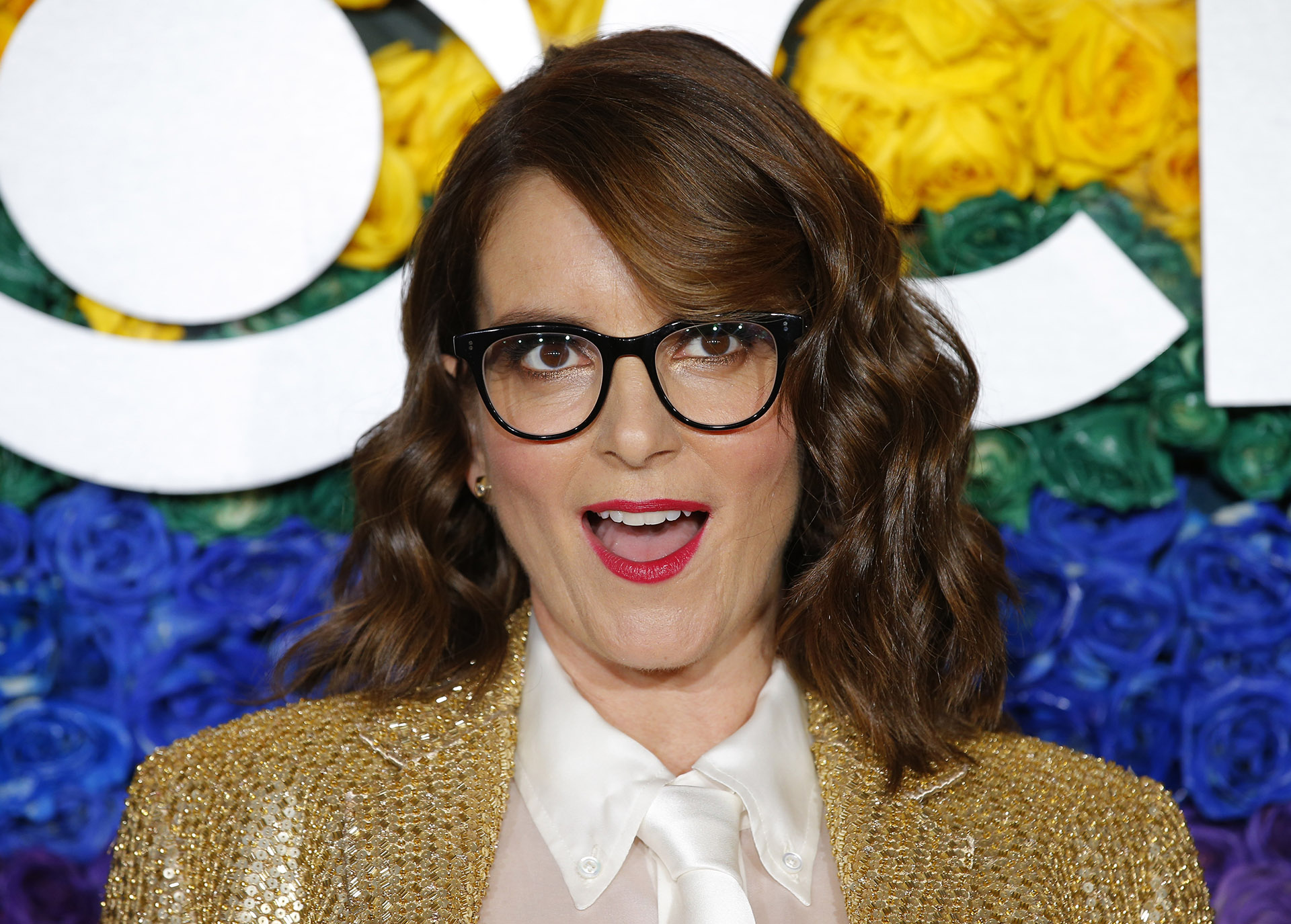 La comediante Tina Fey