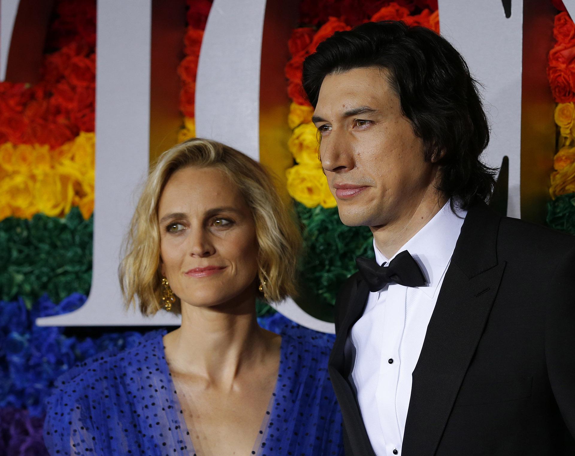 Joanne Tucker y Adam Driver