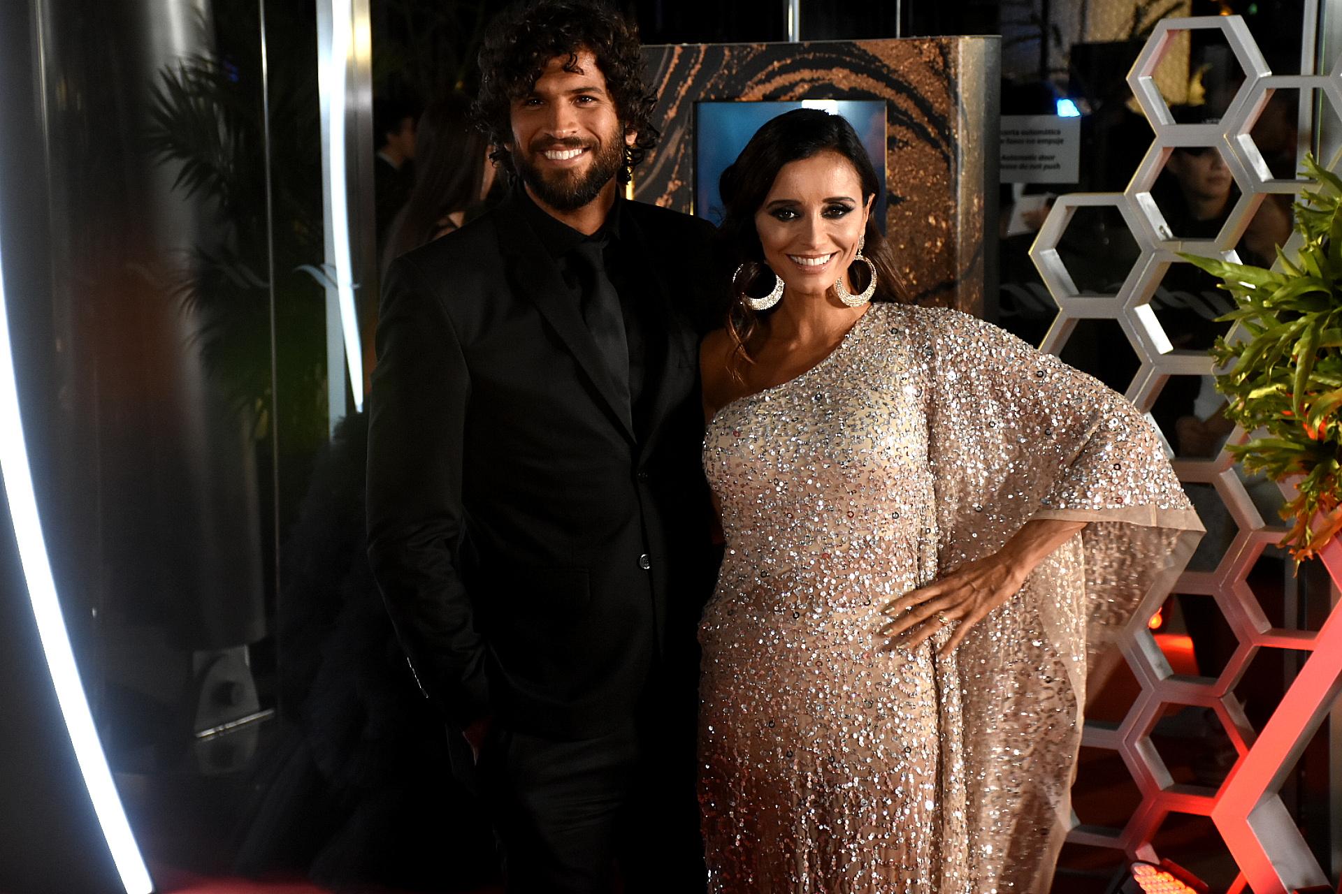 La diseñadora Paz Cornú y su marido el modelo Diego Orden