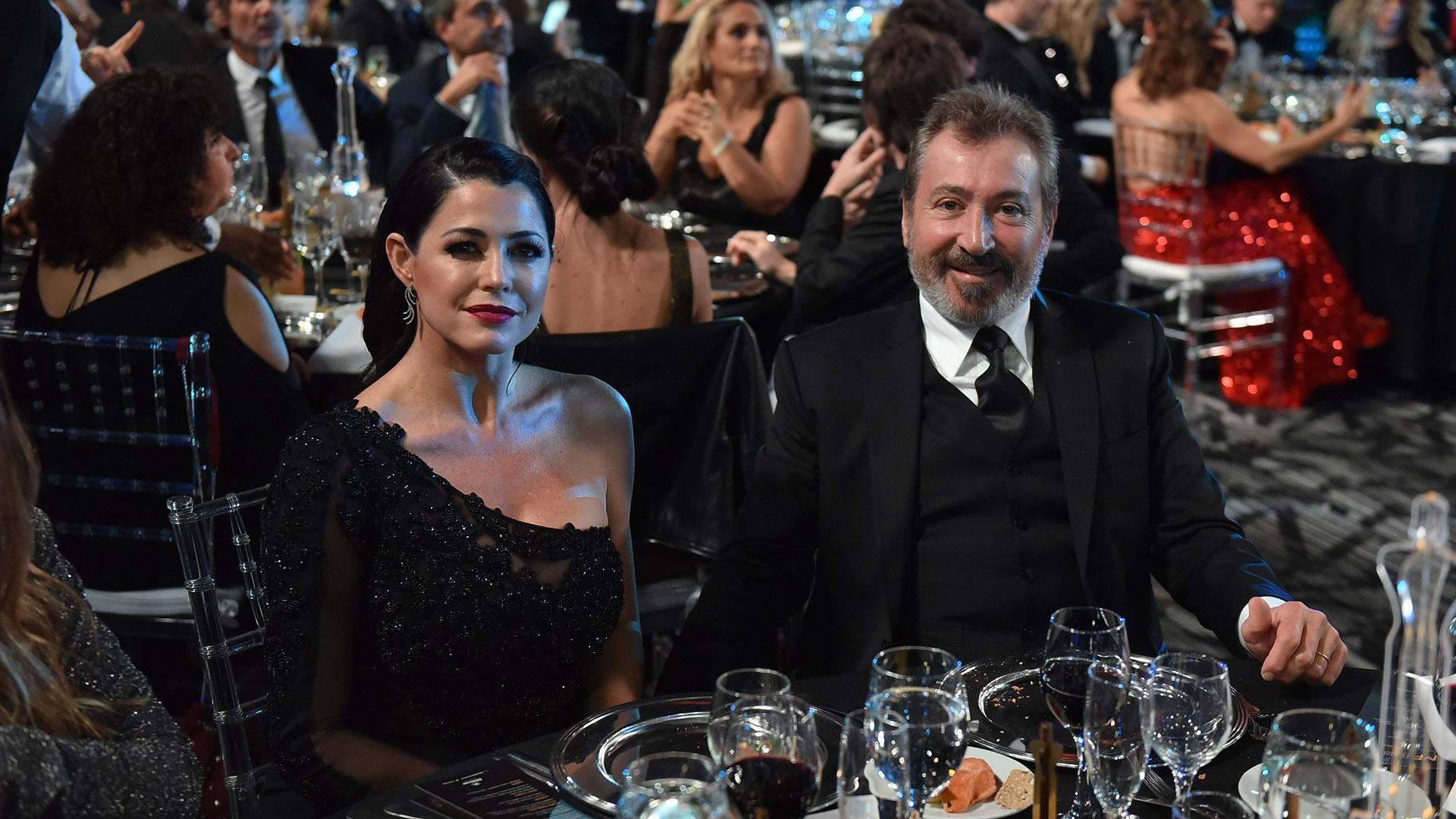 Pamela David y Daniel Vila. La conductora de Pamela a la tarde (América) estaba nominada por Labor Conducción Femenina