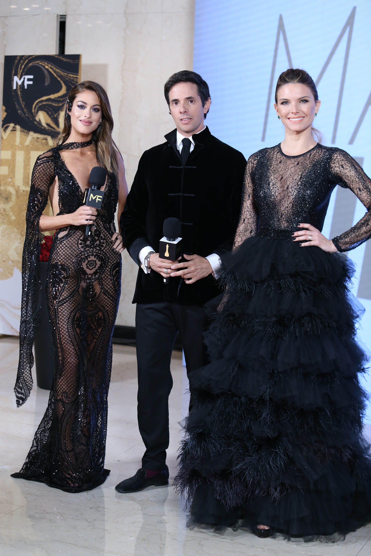 Agustina Casanova, Robertito Funes Ugarte y Sofía Zamolo