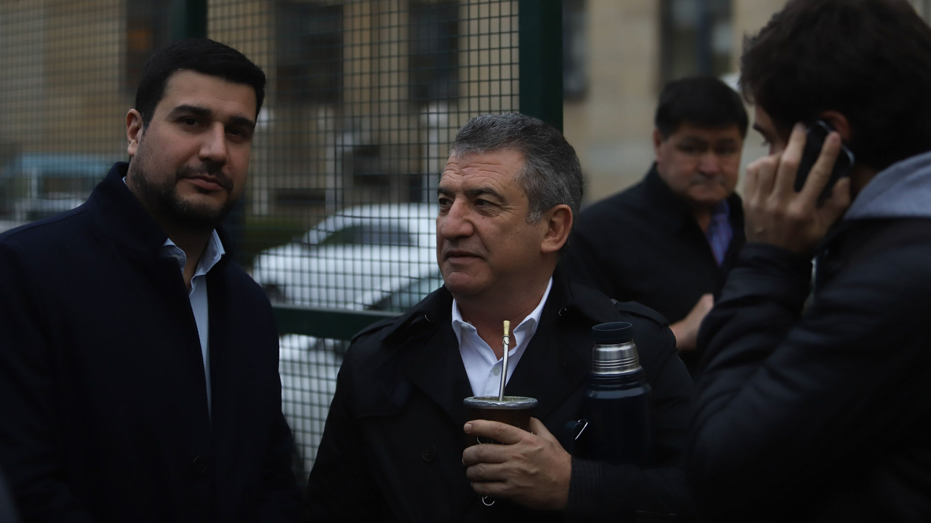 El diputado nacional Marcos Cleri y el ex gobernador Sergio Urribarri