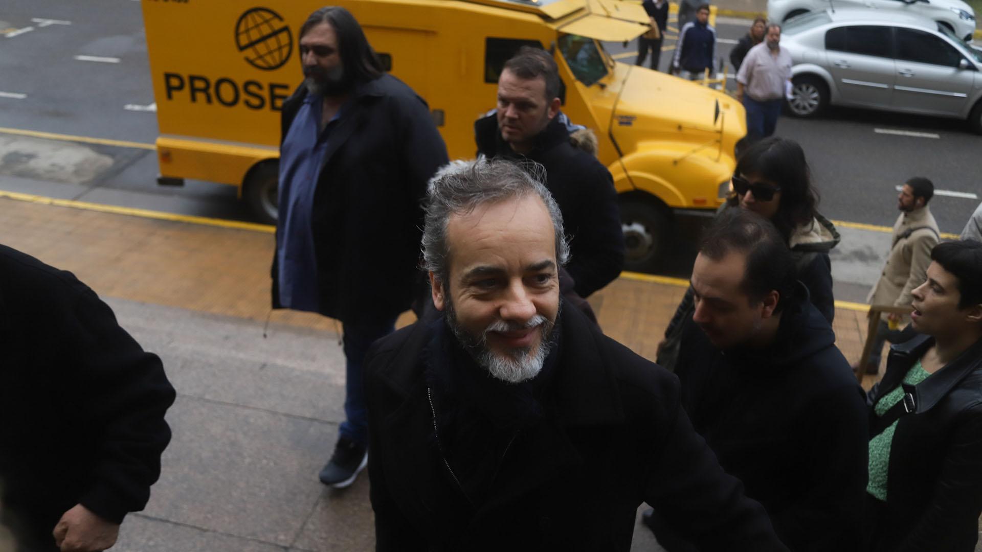 El gremialista Eduardo López