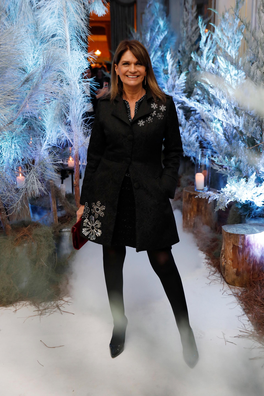 Teresa Calandra, entre los invitados que pudieron disfrutar también de los tragos de la barra de Ramiro Ferreri