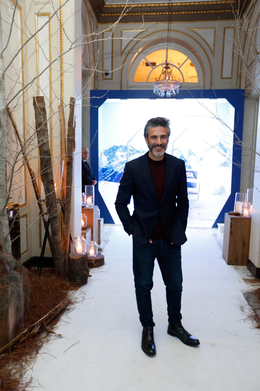 Leonardo Sbaraglia acompañó a Visa. Para esta temporada de esquí 2019, la tarjeta proporcionará experiencias y beneficios especiales para sus usuarios