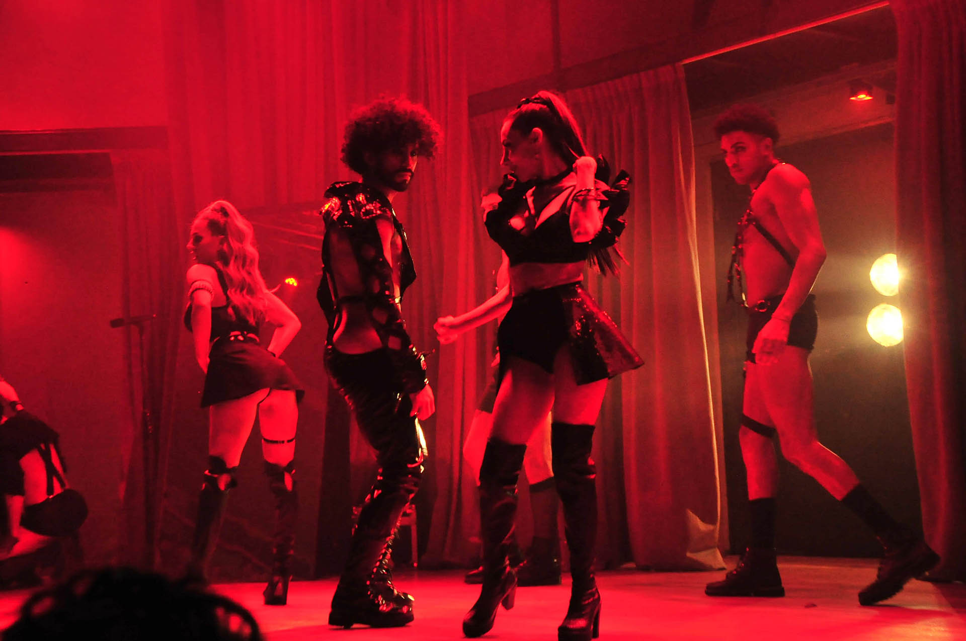 Las coreografías fueron creadas por Mati Napp
