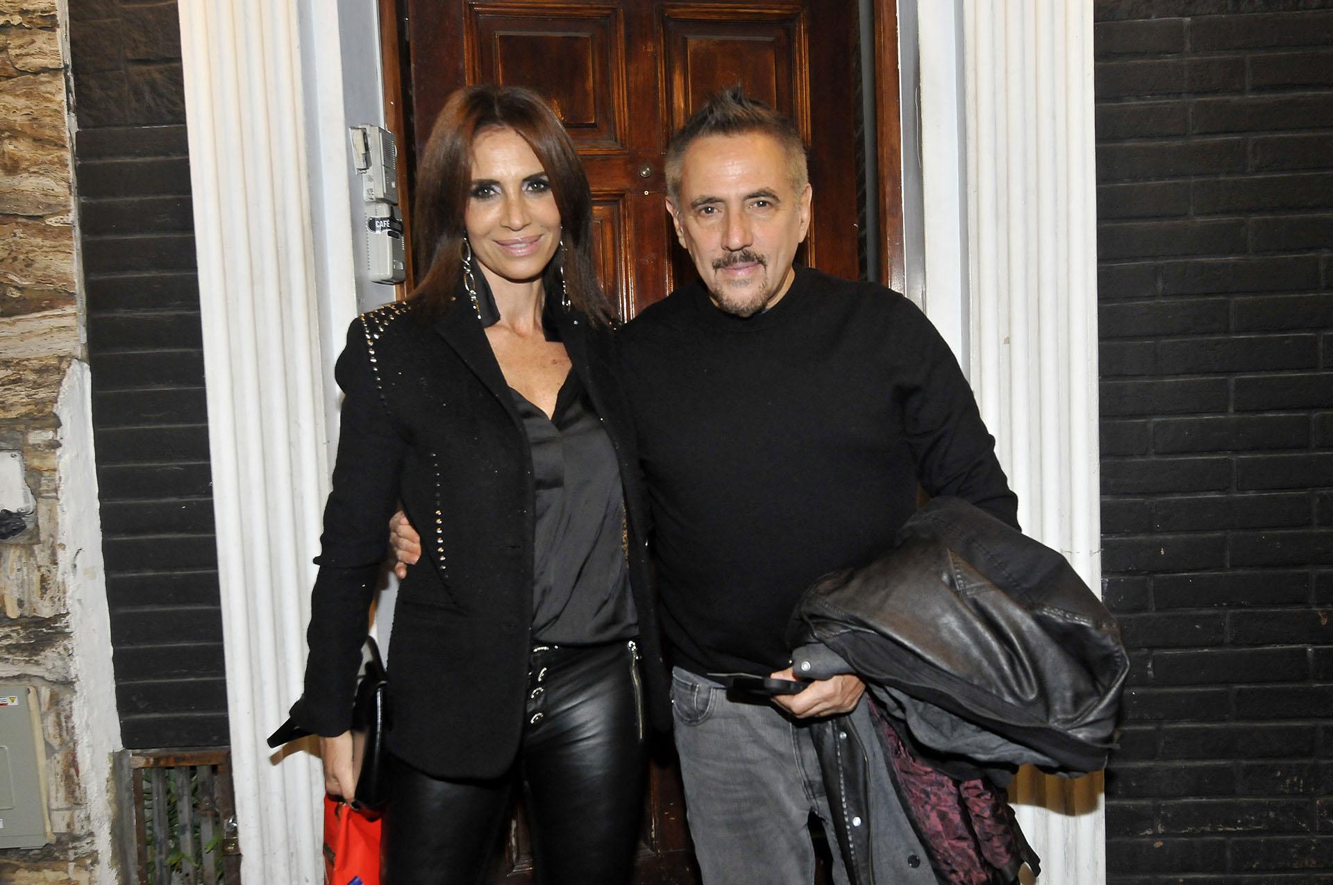 Alejandro Lerner y Marcela García Ibañez