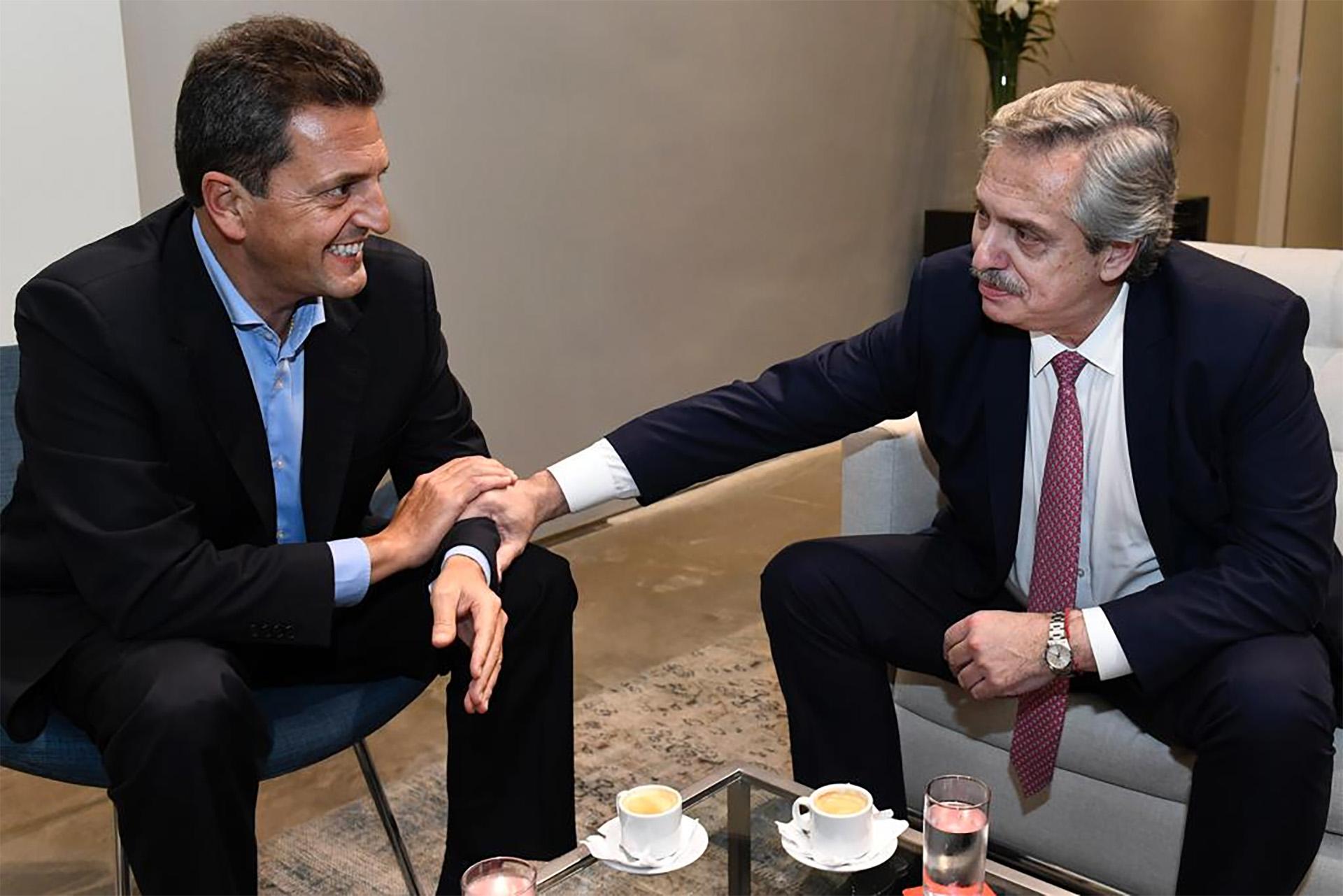 Alberto Fernández Y Sergio Massa Cerraron Un Acuerdo