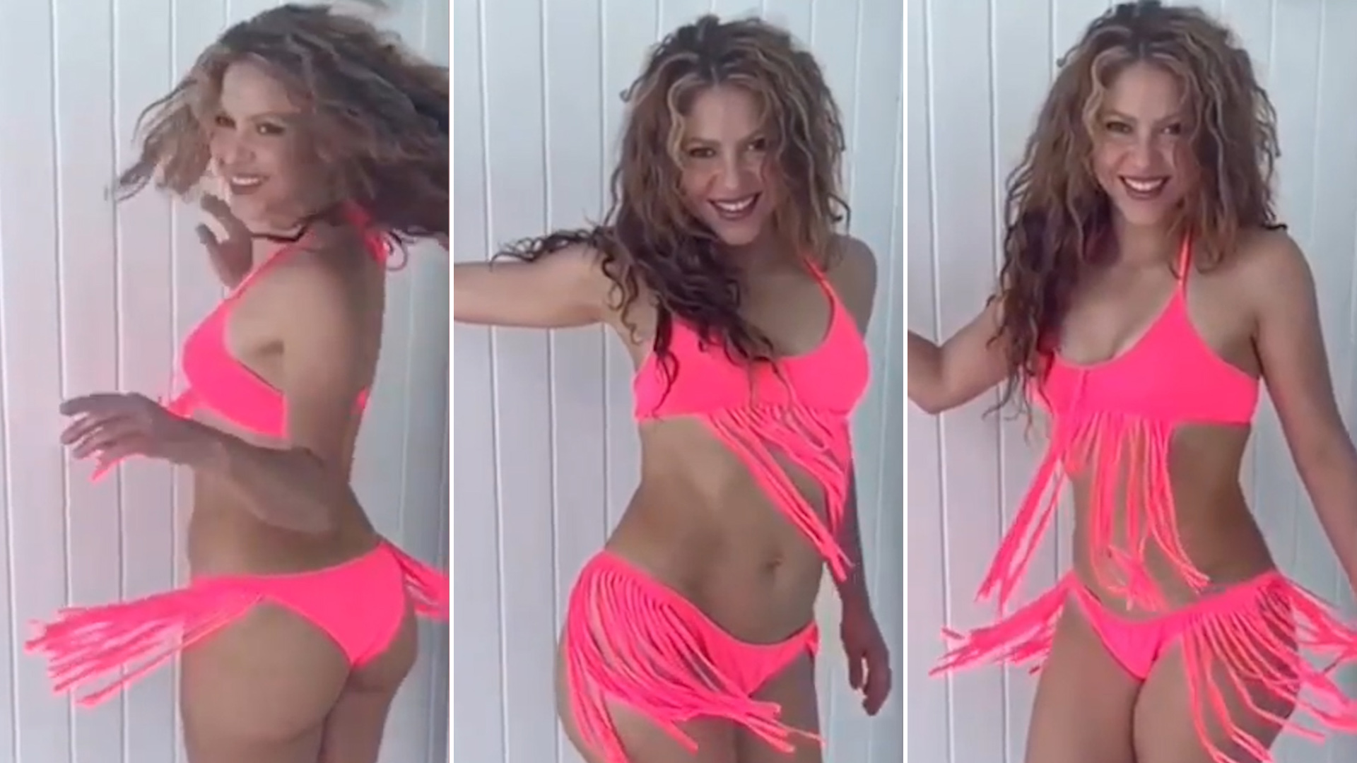 969204a9a02a De cantante a diseñadora: Shakira se mostró con un traje de baño que ...