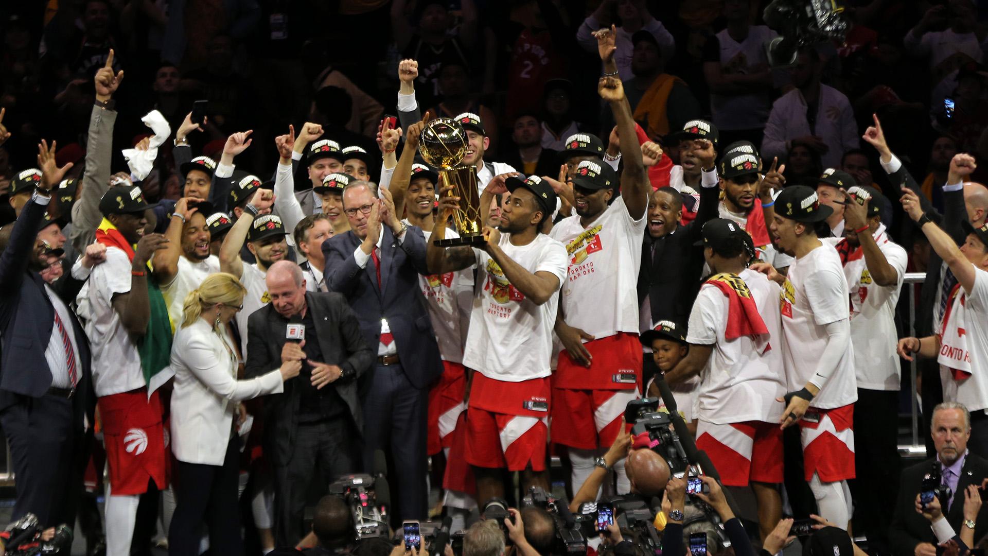 Toronto Raptors hizo historia, venció a Golden State Warriors y es ...