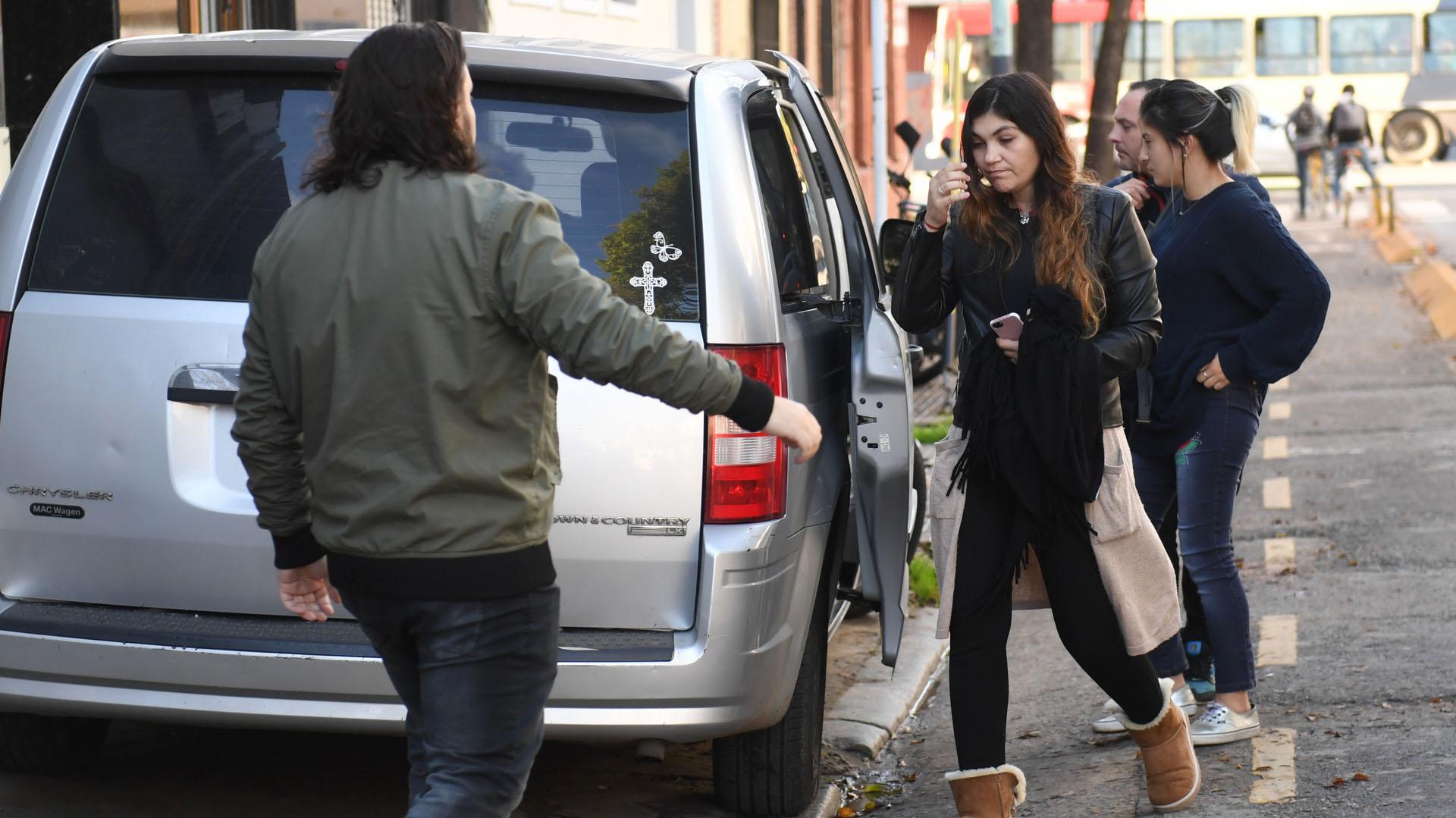 Sergio y Nancy se conocieron cuando el periodista acababa de separarse, y tuvieron dos hijas; ella estuvo a su lado hasta el último segundo